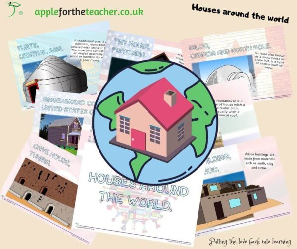 Houses around the world powerpoint