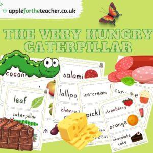 Hungry Caterpillar Display Vocabulary