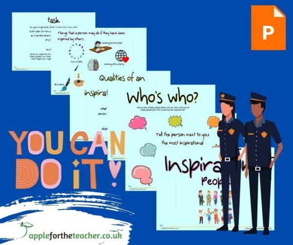 Inspirational people powerpoint presentation