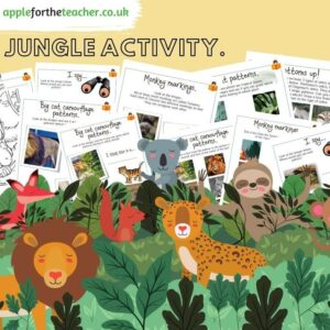 Jungle Patterns Workbook