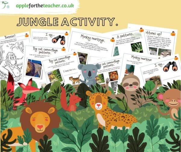 Jungle Patterns Workbook