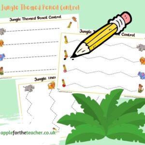 Jungle Themed Pencil Control