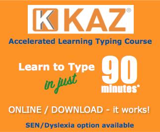 KAZ - Teaching the world to type