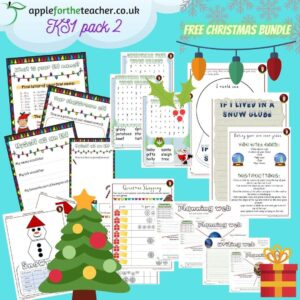KS1 Christmas Bundle Pack 2
