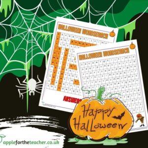 KS1 Halloween Wordsearch