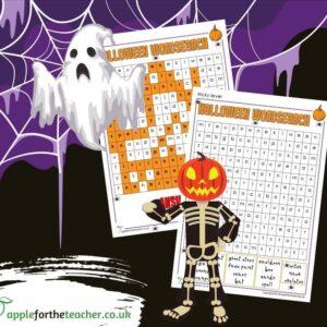 KS2 Halloween Wordsearch