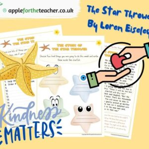 Kindness The Star Thrower Activity