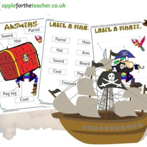Pirate labelling activity