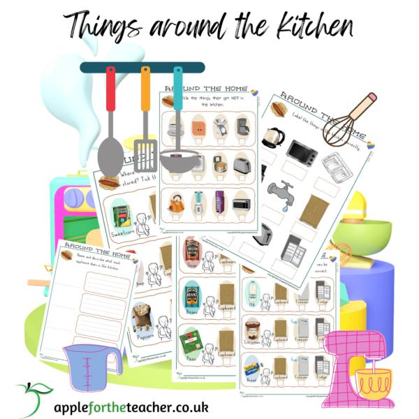 Life Skills Things Around The Kitchen Activity