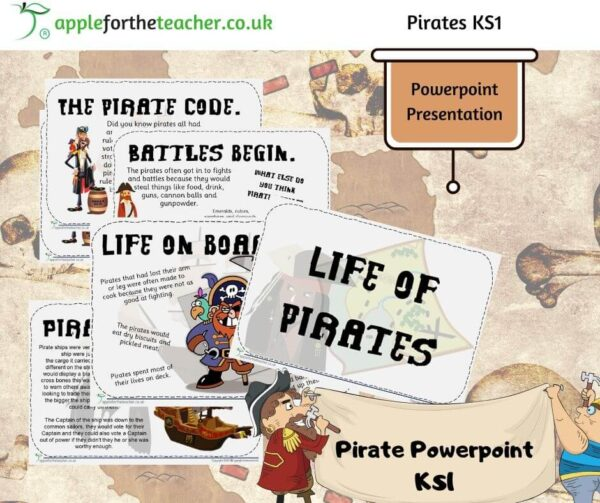 Life of Pirates Powerpoint Presentation
