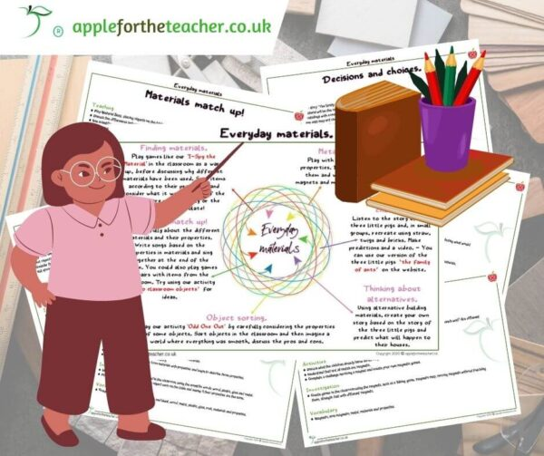Materials planning and activities KS1