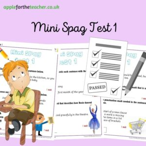 Mini Spag Test 1 KS1