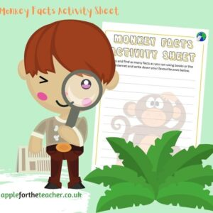 Monkey Facts Activity Sheet