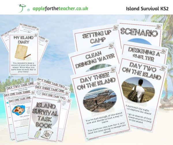 My Island Survival Task Book