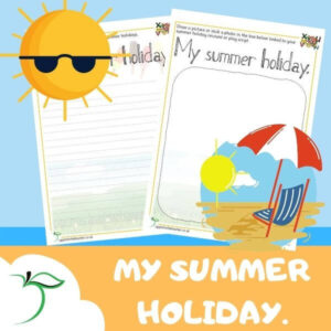 My Summer Holiday Writing KS1