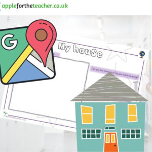 My house map activity KS1
