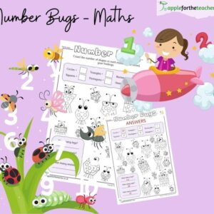Number Bugs Counting Shapes
