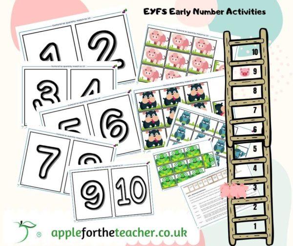 Number to quantity floor activities