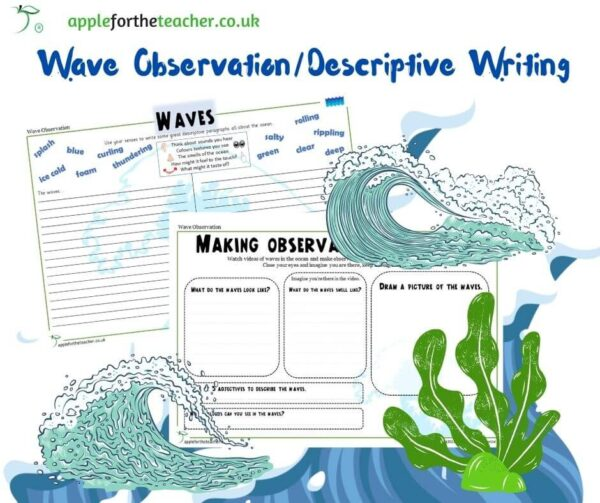 Oceans Observation and Descriptive Writing