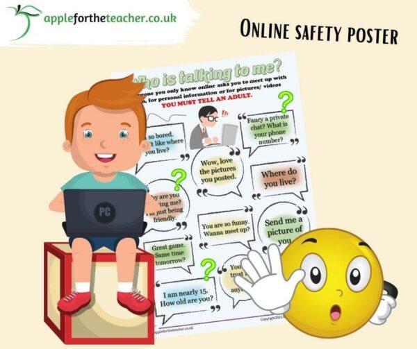 Online Safety Poster KS2