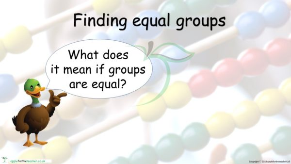 Equal Groups Powerpoint Presentation Maths Mastery Small Steps
