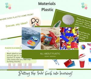 Plastic powerpoint presentation materials science SEN Year 1 KS1