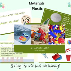 Plastic powerpoint presentation materials science SEN Year 1 KS1