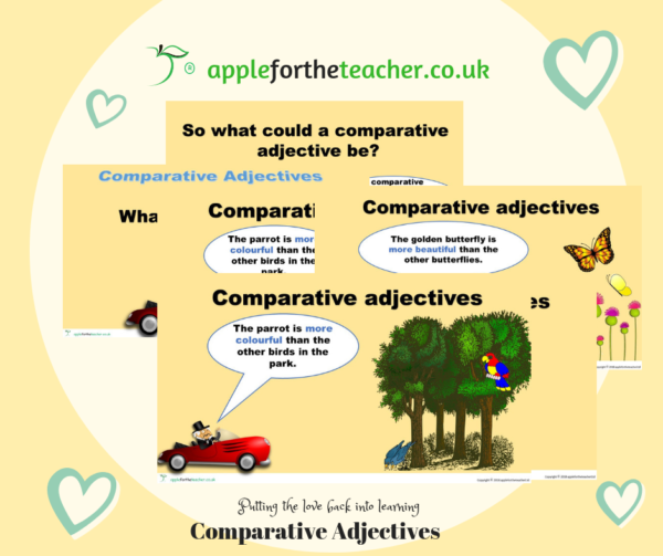 PPT - Comparative Adjectives Powerpoint Presentation English Year 5 Year 6 KS2