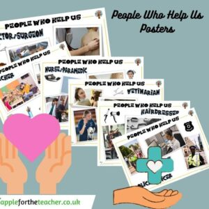 People Who Help Us Communities Posters