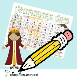 Phonics Graphemes Grid