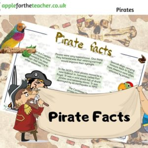 Pirate Facts Sheet