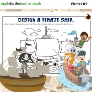 Pirate Ship Design and Colour
