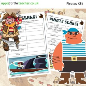 Pirate slang activity