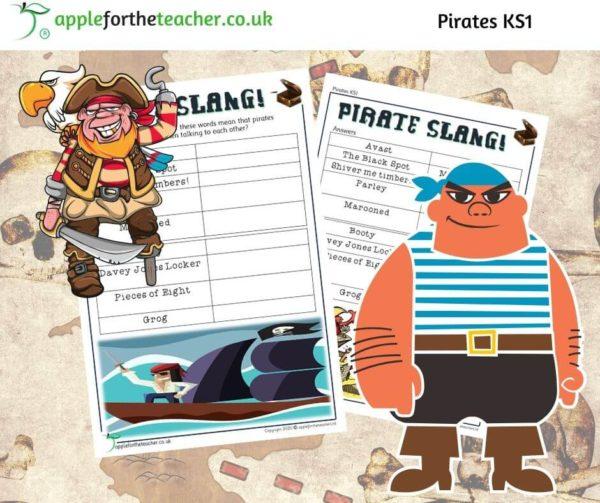 Pirate slang activity