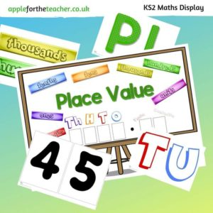Place Value Maths Display KS2