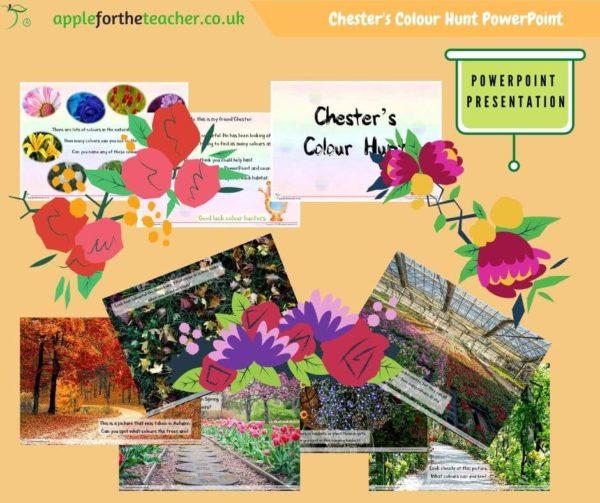 Plants investigation colour powerpoint presentation