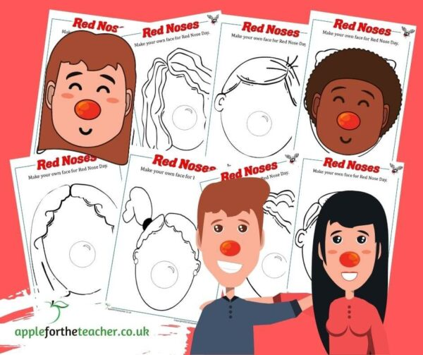 Red Nose Templates