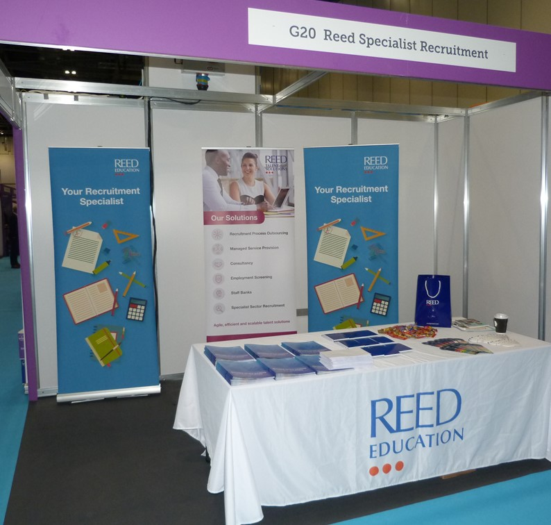 REED Education 'Top Recruiter' At London Education Show