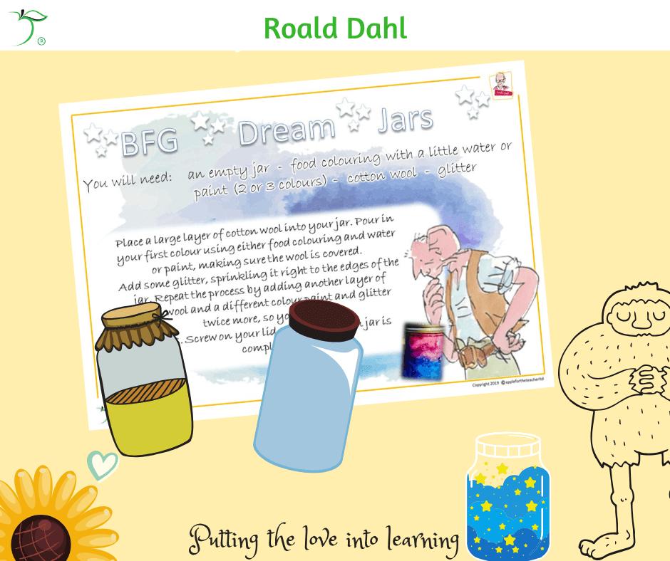 Roald Dahl Inspired Dream Jars