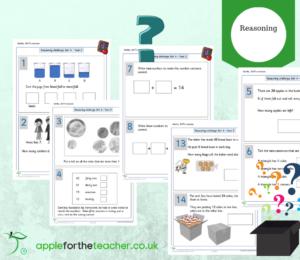 SATs reasoning maths KS1