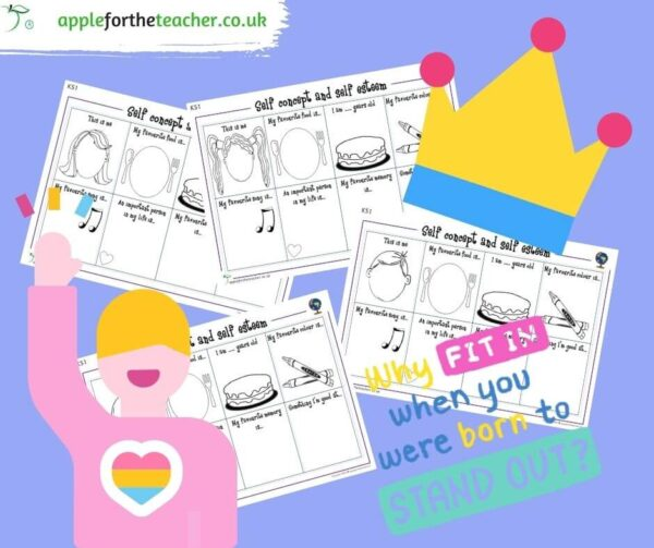 Self concept and self esteem ks1 pshe