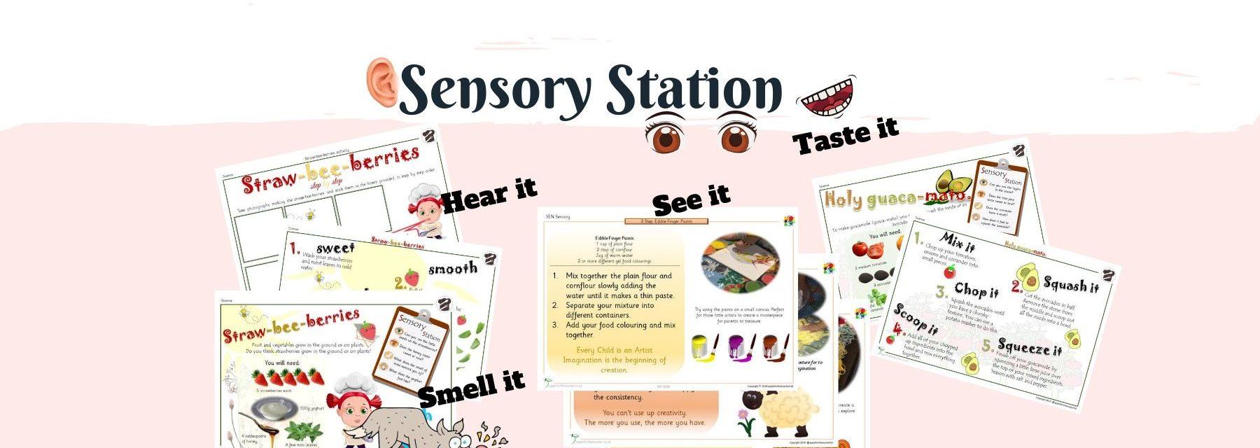 Creative Sensory Station