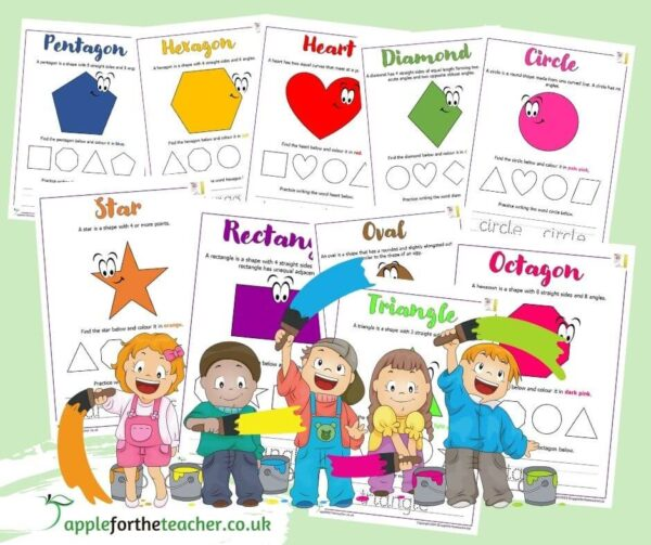 Shape Properties and Recognition Activity KS1