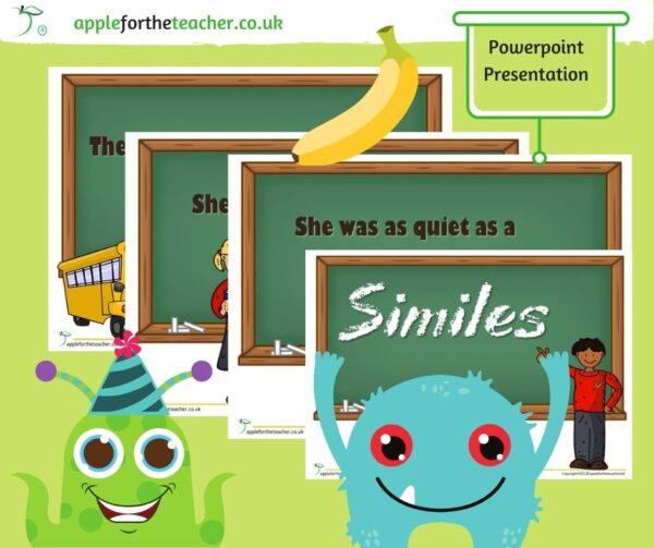 Similes Powerpoint Presentation KS1