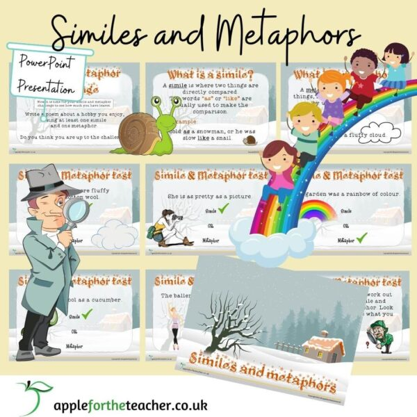 Similes and Metaphors Powerpoint Presentation