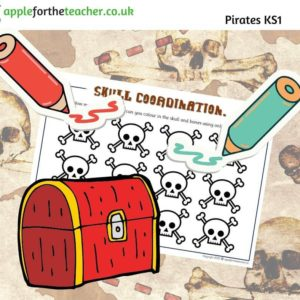 Pirate skull problem solving maths