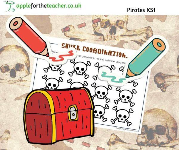 Pirate skull problem solving maths