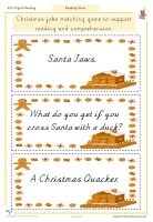 Christmas Reading Joke Game