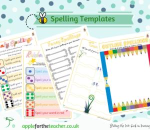 Spellings fun practise sheets KS1 & KS2