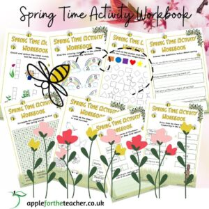 Spring Time Activity Workbook